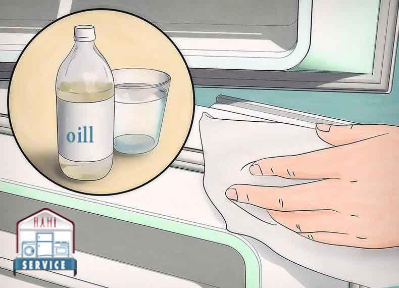 روش تعمیر لاستیک درب یخچال